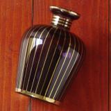 Vaza deosebita de dimensiuni mici - sticla fina culoare frumoasa !!!