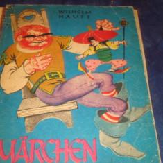 Wilhelm Hauff - Marchen - 1983 - in limba germana - ilustratii Livia Rusz - Carte educativa
