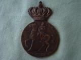 """Medalia Jubiliara """"Centenarul Regelui Carol I al Romaniei 1839-1939"""" - 1"""