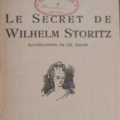 JULES VERNE - LE SECRET DE WILHELM STORITZ                Ed.1933