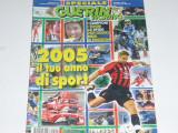 Revista fotbal GUERIN SPORTIVO (Italia) 04-10.01.2005