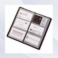 Organizator Carti de Vizita Business Card Album Alassio din Imitație de Piele 120 Carduri