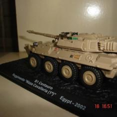 1403.Macheta tanc Centauro B1 - Egypt - 2002 scara 1:72