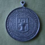 "Placheta Jubiliara ""Stefan Voda cel Mare si Sfant"" - 400 Ani - 1904 - Medalii Romania"