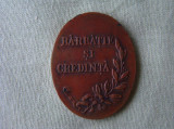 """Decoratia """"Barbatie si Credinta"""""""