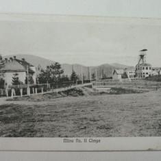 MINA NR II - CIMPA - VALEA JIULUI - RARA - Carte Postala Transilvania 1904-1918