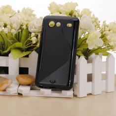 Husa silicon soft Samsung Galaxy S Advance i9070 + folie protectie si cablu date cadou