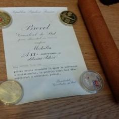 Brevet 1964 Republica Populara Romana Gheorghe Gheorghiu Dej - Diploma/Certificat