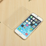 "Husa flip silicon transparenta Iphone 6 4,7"", iPhone 6/6S, Transparent, Gel TPU, Apple"