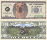USA 1 Million Dollars Caine Pit Bull UNC