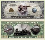 USA 1 Million Dollars I Razboi Mondial UNC