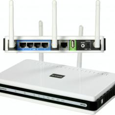 D Link DIR-655 Xtreme N Gigabit, Port USB, IPv6, 10/100/1000 Mbps - Router wireless D-link, Porturi LAN: 4, Porturi WAN: 1