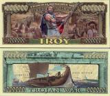 USA 1 Million Dollars Odyseus Troia UNC