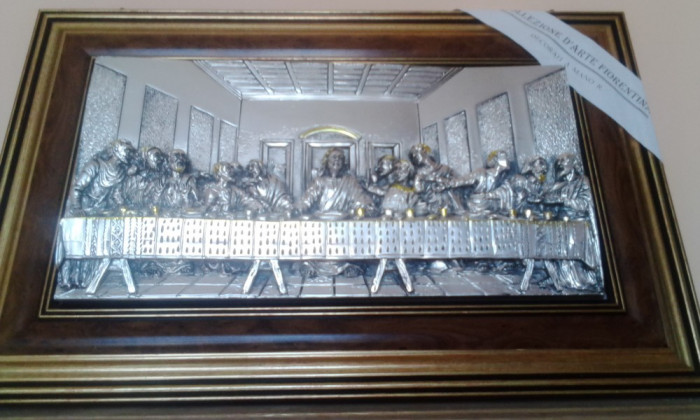 Icoana cina cea de taina icoana cu foita de aur okazii for Cu ci na roma
