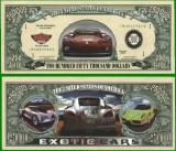 USA 250 000 Dollars Masina Exotica UNC