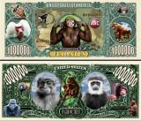 USA 1 Million Dollars Maimuta UNC