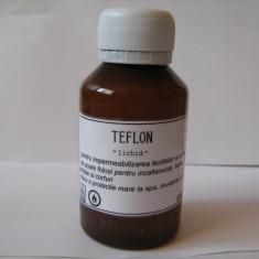TEFLON solutie lichida de teflon pentru impermeabilizarea imbracamintei si a incaltamintei din piele impotriva apei, murdariei si a grasimilor