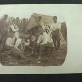 "WW1 - GRUP DE SOLDATI DIN REGIMENTUL DE INFANTERIE "" PUCHERNA NR 31"" - 1917 - Fotografie veche"