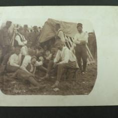 WW1 - GRUP DE SOLDATI DIN REGIMENTUL DE INFANTERIE