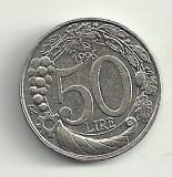 ITALIA 50 LIRE 1996 [2] Livrare in cartonas!, Europa