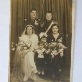 FOTO SUBOFITER GINERE CU NAS OFITER IN TINUTA DE PARADA DIN ANII 30 - Fotografie veche