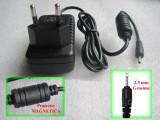 Incarcator tableta, 5v 2a cu mufa rotunda Jack de 2,5 mm, Incarcator retea, Universal