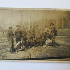 FOTO MILITARI ROMANI CAROL II ANII 30 - Fotografie veche