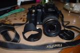 Aparat foto digital compact bridge FUJI FinePix 9600 + accesorii + trepied, 10 Mpx, 10x, fujifilm