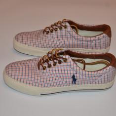 Ralph Lauren Vaughn Sneaker madras 41 si 42 (reducere finala) - Tenisi dama Polo By Ralph Lauren, Culoare: Din imagine