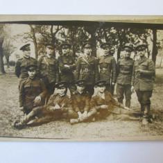 FOTO SUBOFITERI CAROL II ANII 30 - Fotografie veche