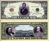 USA Bancnota Razboiul Civil UNC