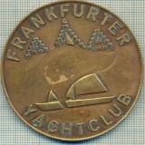 ATAM2001 MEDALIE 379 - FRANKFURTER - YACHTCLUB - GERMANIA - starea care se vede