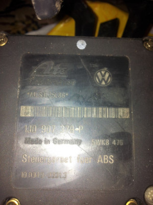 Unitate control BS (pompa ABS) Volkswagen foto