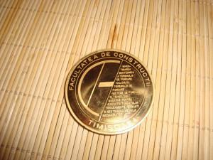 Medalie Facultatea de c-tii Timisoara - 2008 - Conferinta nationala de geotehnica si fundatii