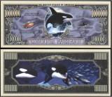 USA 1 Million Dollar Balena Ucigasa UNC