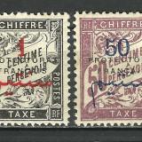 COLONII FRANTA--MAROC 1915 SUPRATIPAR MNH, Nestampilat