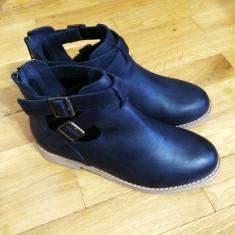 Asos Leather Boots – 150 Ron Marime: 37 - Ghete dama Asos, Culoare: Negru, Piele naturala, Negru