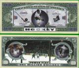 USA 1 Million Dollars Hockey UNC