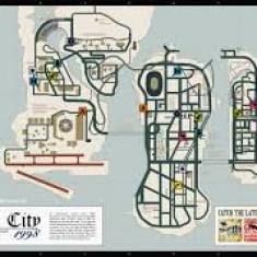 Poster Liberty City 1998 - Afis
