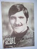 Revista SPORT Nr. 8 / 1970 Articol : Dobrin - Fisa biografica BOX