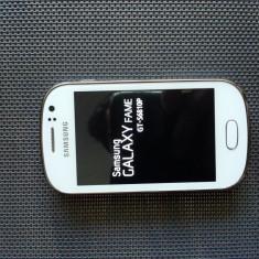 Samsung GALAXY Fame GT-S6810P White - Telefon mobil Samsung Galaxy Fame, Albastru