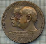 ATAM2001 MEDALIE 410 - UNIVERSUL 50 ANI IN SERVICIUL NEAMULUI -1848-1933 -LUIGI CAZZAVILLAN -STELIAN POPESCU-starea care se vede