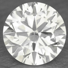 >>DIAMANT NATURAL ALB - certificat de autenticitate - 0, 185ct. - 3, 60 mm diametru - superb ! ! !, Briliant