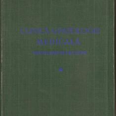 (C5355) CLINICA SI PATOLOGIE MEDICALA. PROBLEME SI LECTIUNI DE ACADEMICIAN I. HATIEGANU SI COLECTIVUL, VOL.1, I, 1955 - Carte Diagnostic si tratament