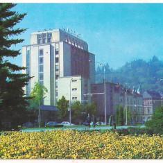#carte postala(ilustrata)-BRASOV-Hotel Carpati - Carte Postala Transilvania dupa 1918, Circulata, Printata