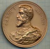 ATAM2001 MEDALIE 437 -( REGELE )  CAROL I - 1866-1914 -ROMANIA -2004 - NIHIL SINE DEO -starea care se vede