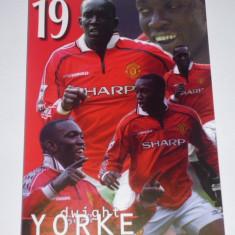 Carte postala fotbal-foto Dwight YORKE (Anglia, Manchester United)