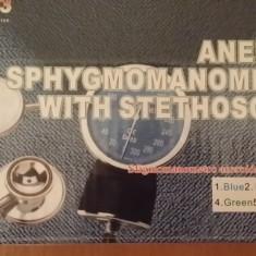 Tensiometru de brat si Stetoscop - Aparat monitorizare