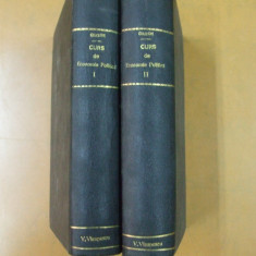 Ch. Gide Curs de economie politica 2 vol 1921 - 1925 - Curs marketing