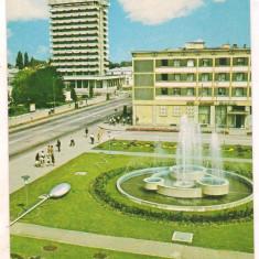 #carte postala(marca fixa)-BACAU-Vedere din centru - Carte Postala Moldova dupa 1918, Circulata, Printata